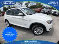 Used 2015 BMW X3 xDrive28d| For Sale in Winter Park, FL | 5UXWY3C53F0E95459 Winter Park