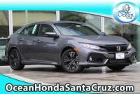 New 2019 Honda Civic Hatchback EX Hatchback For Sale or Lease in Soquel near Aptos, Scotts Valley & Watsonville | Ocean Honda