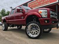 2014 Ford F-250 SD PLATINUM CREW CAB SHORT BED 4WD CUSTOM LIFTED
