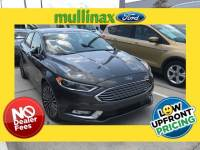 Used 2018 Ford Fusion Hybrid Titanium W/ Cooled Heated Seats, Reverse Sensing Sedan I-4 cyl in Kissimmee, FL