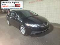 Pre-Owned 2013 Honda Civic LX Sedan Front-wheel Drive in Avondale, AZ