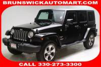 Certified Used 2017 Jeep Wrangler JK Unlimited Sahara 4x4 in Brunswick, OH, near Cleveland