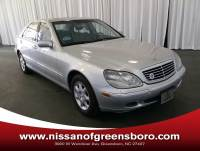 Pre-Owned 2002 Mercedes-Benz S-Class Base Sedan in Greensboro NC