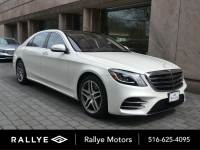 Certified Pre-Owned 2018 Mercedes-Benz S 560 AWD 4MATIC®