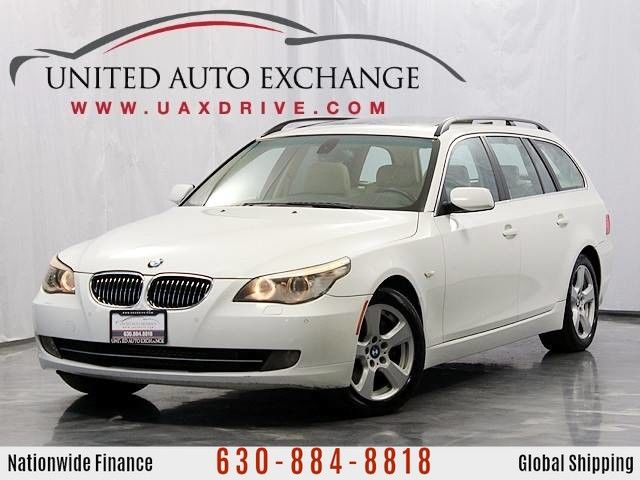 Photo 2008 BMW 5 Series 535xiT Wagon 3.0L Twin-Turbo Engine w Panoramic Sunroof, Heated Seats, Front and Rear Parking Aid, Bluetooth  Xenon Headlamps