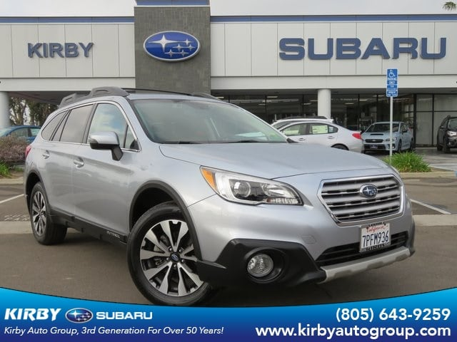 Photo Certified Pre-Owned 2016 Subaru Outback 2.5i Limited Moonroof Package  Keyless Access  Push-Button Start  Navigation System  EyeSight in Ventura, CA