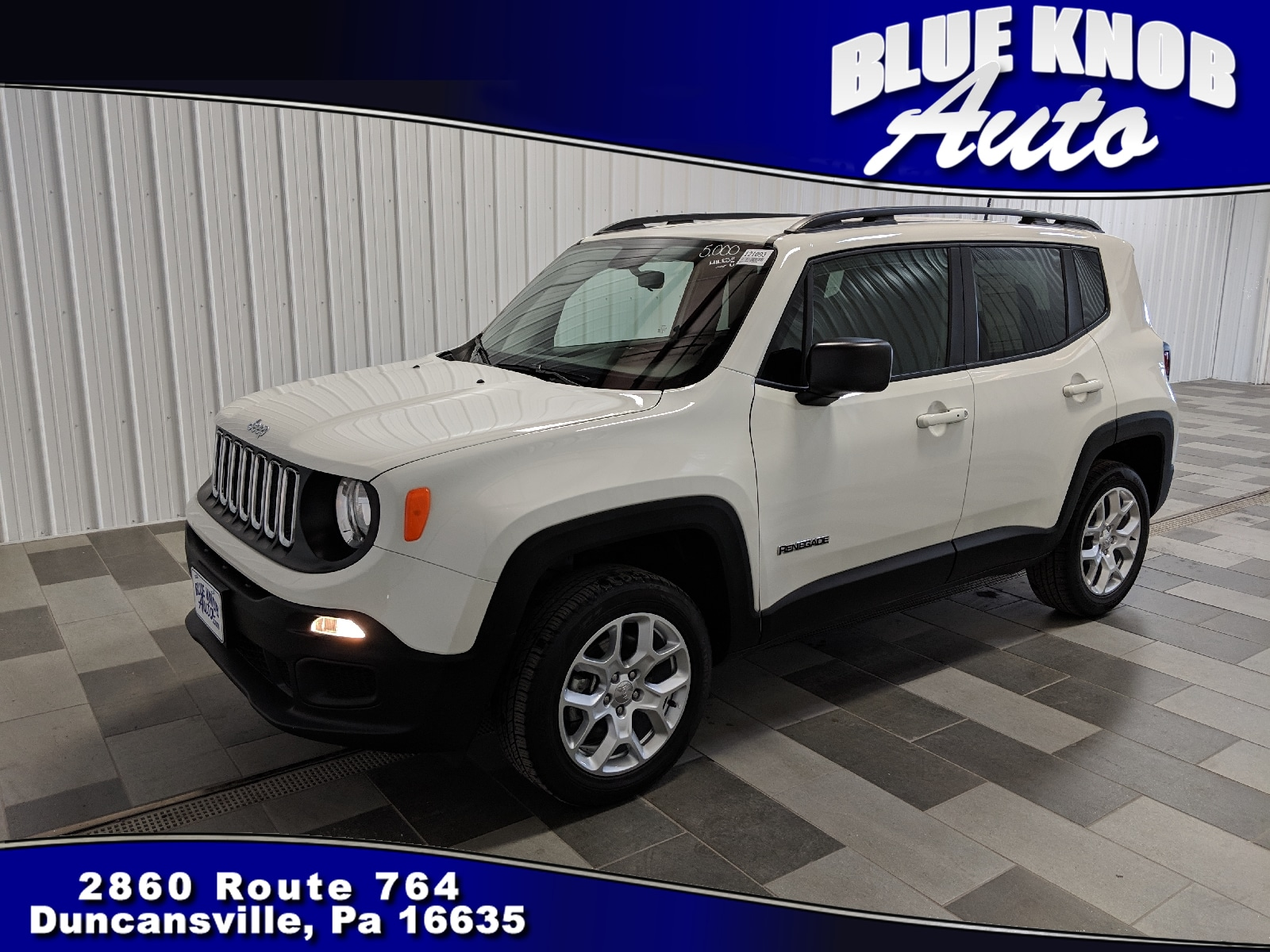 Photo 2018 Jeep Renegade Sport 4x4 SUV in Duncansville  Serving Altoona, Ebensburg, Huntingdon, and Hollidaysburg PA