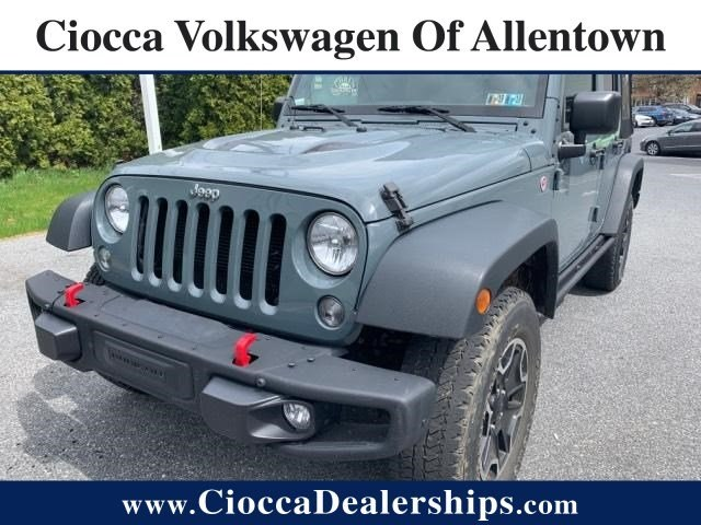 Photo Used 2015 Jeep Wrangler Unlimited Rubicon Hard Rock For Sale in Allentown, PA