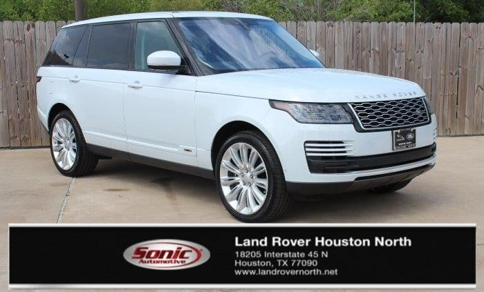 Photo Certified 2018 Land Rover Range Rover 5.0L V8 Supercharged in Houston