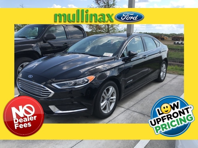 Photo Used 2018 Ford Fusion Hybrid SE W Navigation, Leather, Technology Package Sedan I-4 cyl in Kissimmee, FL