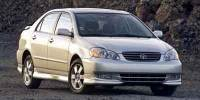 2003 Toyota Corolla CE Sedan Front-wheel Drive