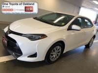 Pre-Owned 2018 Toyota Corolla LE Sedan in Oakland, CA