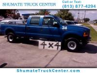 2001 Ford F-250 Crew Cab 4x4 8FT. Bed