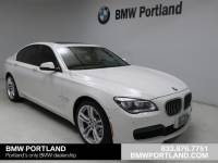 Pre-Owned 2014 BMW 7 Series 4dr Sdn 750i Xdrive AWD Car in Portland