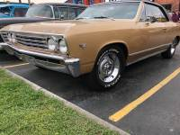 1967 Chevrolet Chevelle -MALIBU 327-AUTOMATIC-AIR CONDITIONING-SOUTHERN CLASSIC-