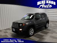 2018 Jeep Renegade Latitude 4x4 SUV in Duncansville | Serving Altoona, Ebensburg, Huntingdon, and Hollidaysburg PA
