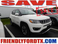 Used 2019 Jeep Compass Limited SUV I4 for Sale in Crosby near Houston