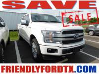 Used 2018 Ford F-150 Platinum Truck V8 for Sale in Crosby near Houston