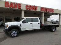 2018 Ford F-450 Super Duty 4x4 Crew Cab 11 ft Flatbed