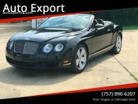 2007 Bentley Continental AWD GT 2dr Convertible