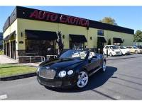 2012 Bentley Continental AWD GT 2dr Convertible