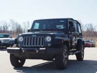 Certified Pre-Owned 2017 Jeep Wrangler Unlimited Unlimited Sahara 4x4 Sahara SUV in Warwick near Ramsey, NJ