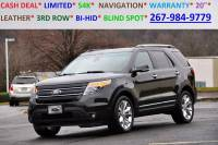 2015 Ford Explorer AWD Limited 4dr SUV