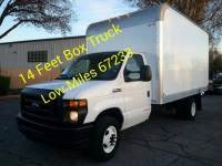 2017 Ford E-Series Chassis 14 FEET CUTAWAY BOX TRUCK WITH RAMP