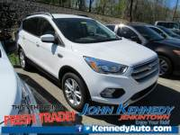 Certified 2018 Ford Escape SE SUV EcoBoost I4 GTDi DOHC Turbocharged VCT in Jenkintown