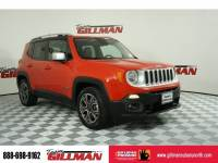 2016 Jeep Renegade Limited Leather Interior