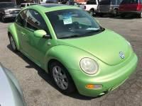 2003 Volkswagen New Beetle 2dr GLS 1.8T Turbo Coupe