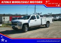 2011 Chevrolet Silverado 3500HD CC 4X4 Work Truck 4dr Extended Cab