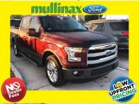 Used 2016 Ford F-150 Lariat W/ Center Console, 20 Wheels, Twin Panel Mo Truck SuperCrew Cab V-8 cyl in Kissimmee, FL