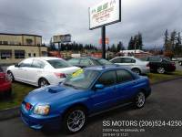 2004 Subaru Impreza AWD 4dr WRX Turbo Sedan