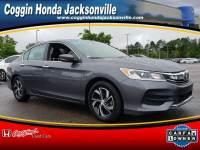 Certified 2016 Honda Accord LX Sedan in Jacksonville FL