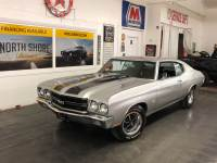 1970 Chevrolet Chevelle SS 396-BIG BLOCK WITH 4 SPEED-CORTEZ SILVER-