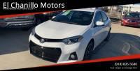 2016 Toyota Corolla S Plus 4dr Sedan CVT