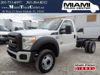 2011 Ford F-550 F550 Regular Cab DRW Cab & and Chassis DIESEL