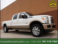 2012 Ford F-350 SD KING RANCH CREW CAB LONG BED 4WD NAV CAM DVD ROOF