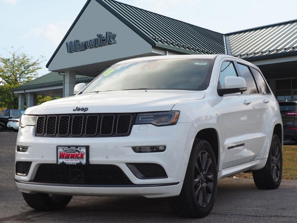 Photo Certified Pre-Owned 2018 Jeep Grand Cherokee High Altitude 4x4 High Altitude SUV in Warwick near Ramsey, NJ