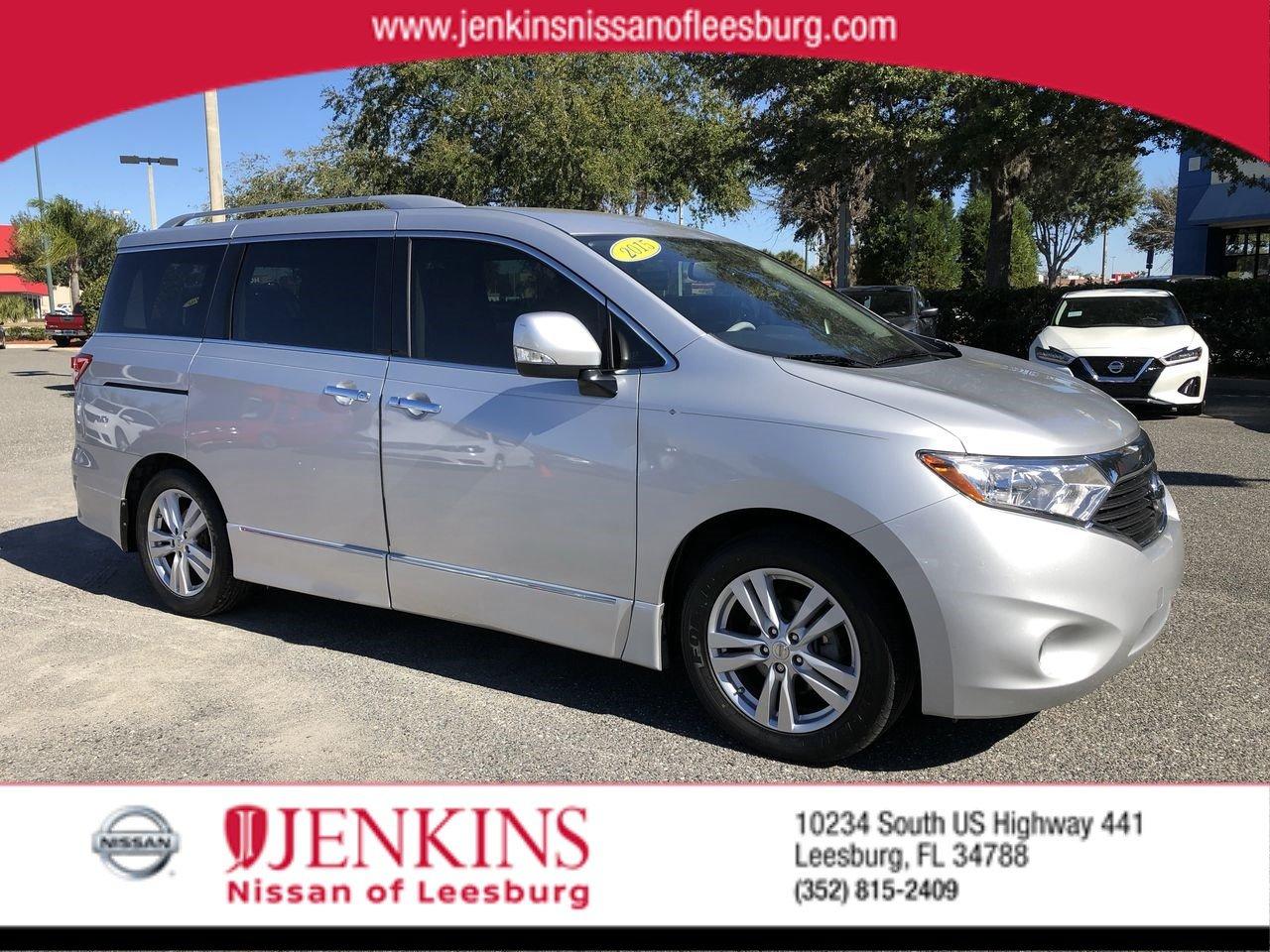 Photo Used 2015 Nissan Quest SL Van For Sale Leesburg, FL