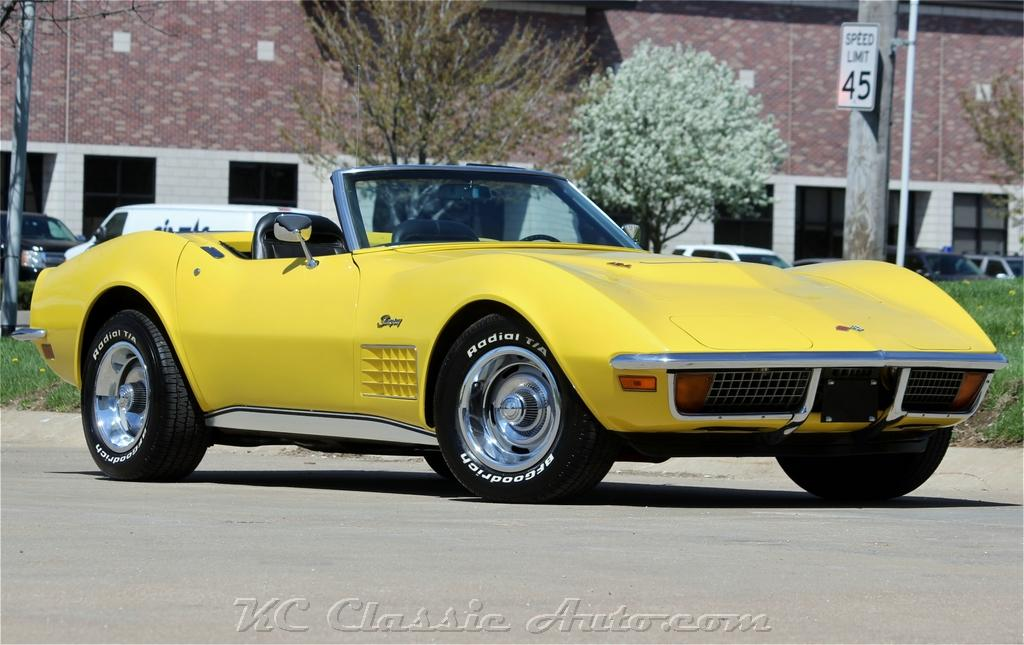 Photo 1972 Chevrolet Corvette Convertible LS5 454 Block Loaded and Very Nice