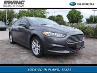 2015 Ford Fusion SE for sale in Plano TX
