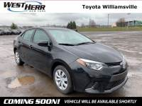 2016 Toyota Corolla LE Sedan For Sale - Serving Amherst