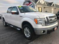 2010 Ford F-150 4x4 Lariat 4dr SuperCrew Styleside 5.5 ft. SB