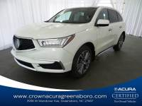 Pre-Owned 2017 Acura MDX w/Technology Pkg in Greensboro NC