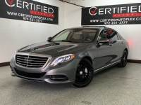 2016 Mercedes-Benz S550 4MATIC DRIVER ASSIST PKG NAVIGATION PANORAMIC ROOF NIGHTVIEW ASSIST BLIND S