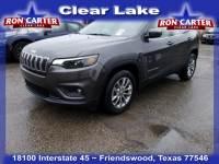 2019 Jeep Cherokee Latitude Plus SUV near Houston