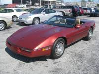 1986 Chevrolet Corvette 2dr Convertible