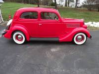 1935 Ford 2 door slant back sedan